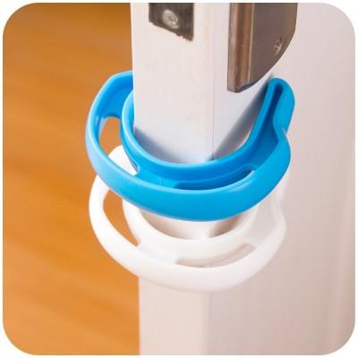 Ограничитель двери в форме подковы усиленный пластиковый