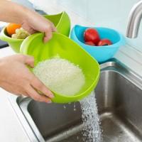 Миска для мытья риса и круп.