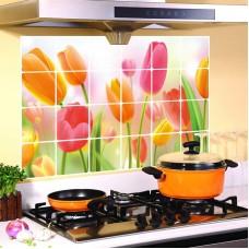 Термостойкая наклейка для кухни фольгированная