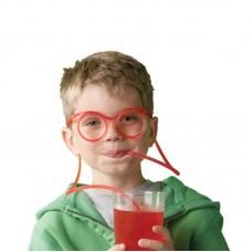 Очки-трубочка для напитков
