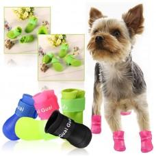 Сапожки резиновые для собак размер S