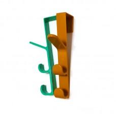 Вешалка на дверь с тремя крючками