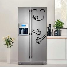 Наклейка на холодильник