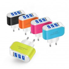 Зарядное устройство на три USB-порта